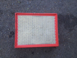 Brand new, never used engine air filter