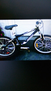 """24"""" crazy hosres infinity mountain bike delivery available"""