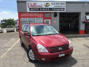 2006 Kia Sedona EX w/POWER PKG+REAR A/C