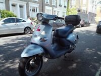 Aprilia 125cc Habana Custom 1 year MOT Nice and Smooth Scooter