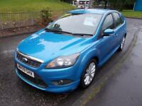 FORD FOCUS 1.6 ZETEC S S/S 5d 113 BHP (blue) 2009