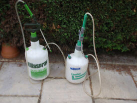 Hozelock Garden Sprayers x 2 - both working