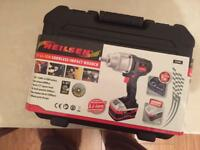"BRAND NEW 18v Li-Ion Impact wrench Most powerfull one yet at 600N.m 1/2"" Drive"