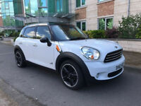 2012 Mini Countryman cooper D ALL4 auto automatic 22k Hpi clear warranty finance part ex??