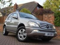 2004 (54) Mercedes-Benz ML270 2.7TD CDI auto Special Edition 4WD..HIGH SPEC!!