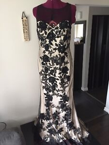 TERANI COUTURE evening gown.