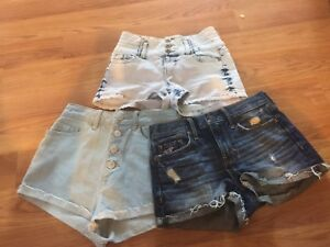Name brand shorts - American eagle,  size 24,4