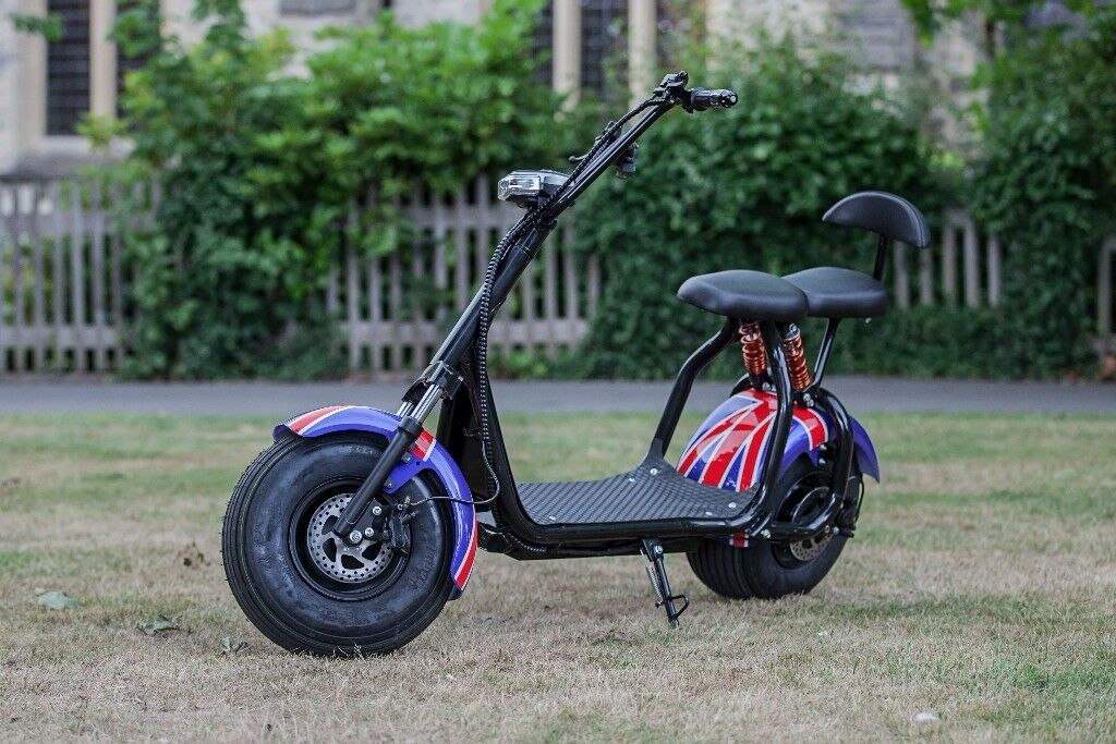 Electric Scooter Harley Big Wheel 1000win Leytonstone, LondonGumtree - Electric Scooter Harley Big Wheel is best opportunity to get your destination with 0 pollution and minimum lost of your energy after hard day at work or after training. Its a cross between a moped and electric bike. Scooter are very comfortable to...