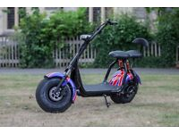 Electric Scooter Harley Big Wheel 1000w