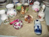 JOB LOT OF CHINA, POTTERY, ETC