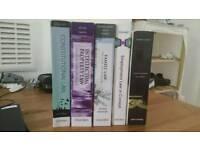 Law textbook bundle