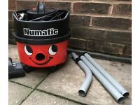 Numatic Henry Hoover Vacuum cleaner RED + new bag