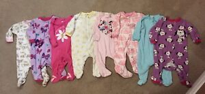 8 Girls 0-3 month sleepers - Great condition!