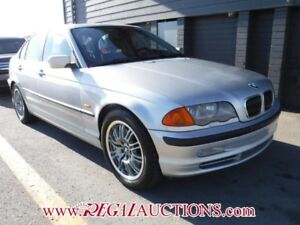 2001 BMW 3 SERIES 330XI 4D SEDAN AWD 330XI