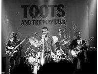 2x Toots and the Maytals tickets Glasgow