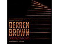 DERREN BROWN TICKETS X 4 WOKING 21/8/17