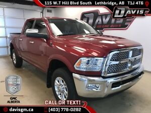 Used 2014 Ram 3500 Laramie-SRW,Heated/Cooled leather, Sunroof