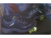 Safety Work Boots Steel Capped Toes & Leather Upper. Dunlop Quality! Size 5 Brand New, £20.00 only!