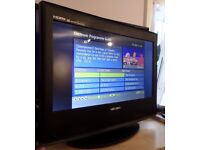 Bush 15 inch HD ready tv with freeview and dvd player