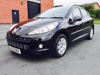 APRIL 2011 PEUGEOT 207 ACTIVE 1.6 HDI ONLY 80K FULL SERVICE HISTORY LONG MOT