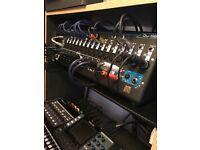 Allen and Heath QU-SB mixer/interface/multitrack recorder