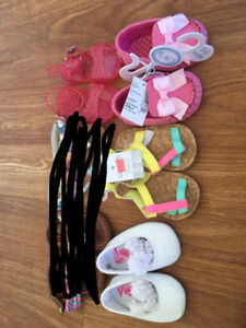 Baby girl Toms and sandals