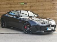 Jaguar F-type 5.0 Supercharged V8 R 2dr Auto STUNNING EXAMPLE (ebony black) 2014