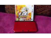 3DS XL + Pokemon sun