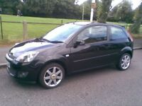 FORD FIESTA 2008 3 OWNERS NEW MILAGE 50000