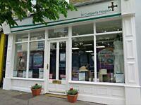 Volunteer Retail Assistant - St Cuthbert's Hospice Shop - Crook