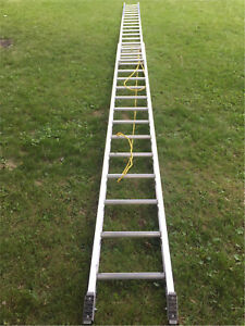 Heavy Duty  32 FT Extension Ladder (lightly used)