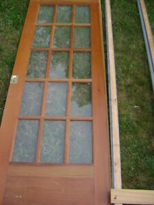 """30"""" French Pocket Door with Frame Kit"""
