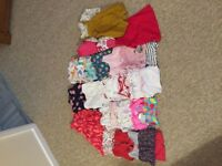 Huge bundle of girls clothes 6-9 months