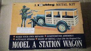 HUBLEY METAL KIT;  MODEL 'A' STATION WAGON