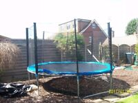 12ft Trampoline and Safety Net
