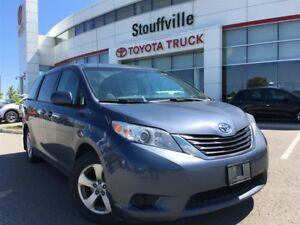 2013 Toyota Sienna LE - Overhead-Mounted DVD Player!