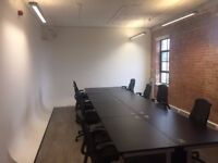 Office space available in Kentish Town 10-12 desks plus own seperate meeting room