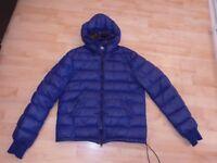 Bright Blue Boys CP Company Puffa Goggles Jacket Age 14