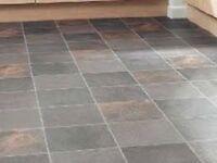 LINO, Linoleum rolls floor installation, installer over 25-year