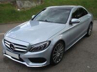 Mercedes-Benz C Class C220 BLUETEC AMG LINE PREMIUM PLUS (silver) 2014-10-10