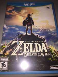 zelda breath of the wild wiiu