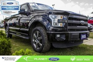 2015 Ford F-150 Lariat|ROOF|NAVI|LEATHER|3.5L|V-6|FORD CERTIFIED