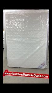 """NEW Full Double 54""""x74"""",7.5""""Thick DualSided Coil Mattress $200"""