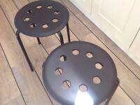 Kitchen stools.
