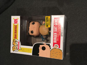 Gene from bobs burgers funko pop toy