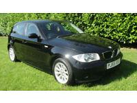 BMW 120 2.0TD 2005MY d ES - FULL MOT WITH NO ADVISORY