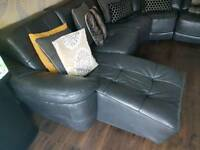 For sale large genuine leather sofa