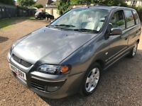 Mitsubishi Space Star Equippe 1584cc Petrol Automatic 53 Plate 11/02/2004 Grey