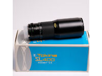 Tokina SL400 400mm F5.6 Prime lens MD Fit Boxed