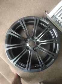 "BMW m3 e92 alloy wheel , 19"" 2x rear 1x front"
